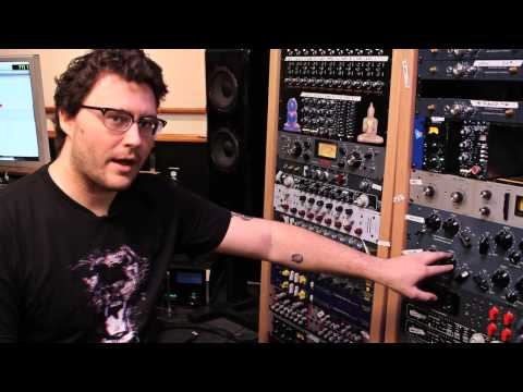 Greg Wells & Ian MacGregor Pulse Techniques Pultec EQM-1S3 Demo
