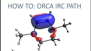 Avogadro with ORCA Tutorial: IRC path