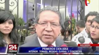 """Carlos Basombrío: """"En los primeros 15 días habrá medidas fuertes contra la inseguridad"""""""