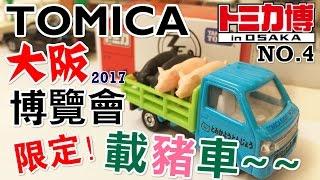 《TOMICA》#28 多美小汽車|日本 大阪博覽會|限定!載豬車 (NO.4)|開箱 介紹 【小飛】