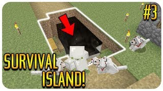 MINECRAFT - SURVIVAL ISLAND - I CAN'T BELIEVE THIS HAPPENED Episode 3