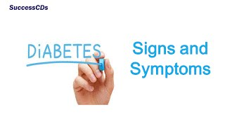 Diabetes - Signs and Symptoms