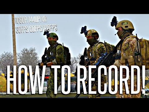 How To Record PC Gameplay (1080P 60FPS) with OperatorDrewski :D