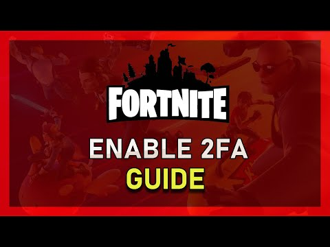 How To Enable Two Factor Authentication In Fortnite! (Epic Games 2FA)