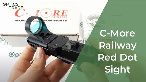 C-More Railway Red Dot Sight review