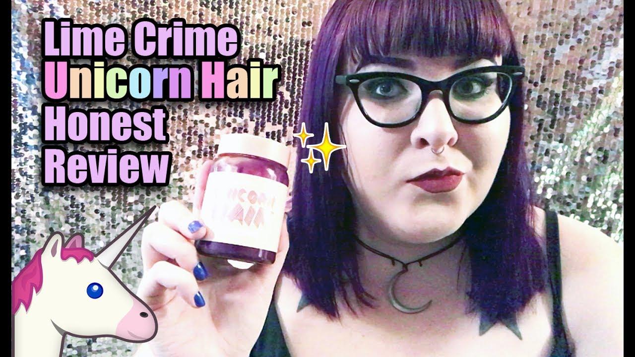 Lime Crime Unicorn Hair 🦄 Honest Review - YouTube