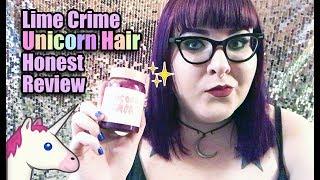 Lime Crime Unicorn Hair 🦄 Honest Review