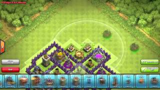Clash of Clans Town Hall 8 Farming Base 2014 (Fortress)