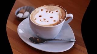 Как сделать рисунок на кофе(как делать рисунки на кофе.рисунки на кофе в домашних условиях., 2016-10-26T18:59:55.000Z)