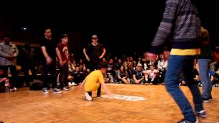 Floor Wars France 2013 1/8e finale - Electron Libre vs Chasseurs de primes juniors-Flava King