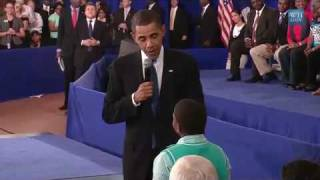 "Child Asks Obama:""Why Do People Hate You?"""