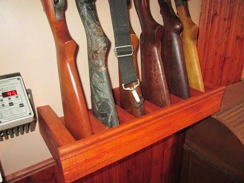 Gun Rack How-to