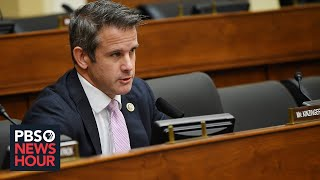 Ten republican members in the house of representatives joined democrats wednesday voting to impeach donald trump. rep. adam kinzinger, a from i...