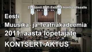 Eesti Vabariigi hümn ja Gaudeamus