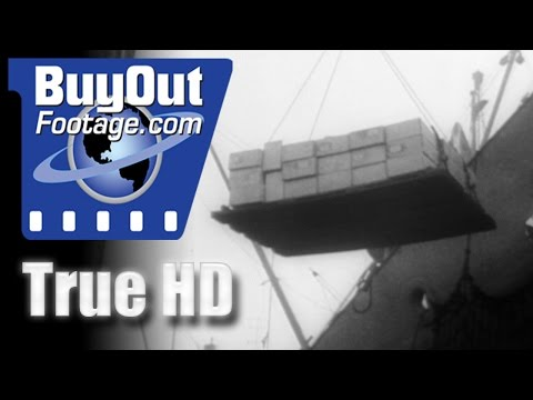 America Reports On Aid To Allies WWII Historic HD Footage