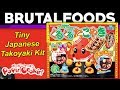 Tiny Japanese Takoyaki Kit! - Popin' Cookin' Review