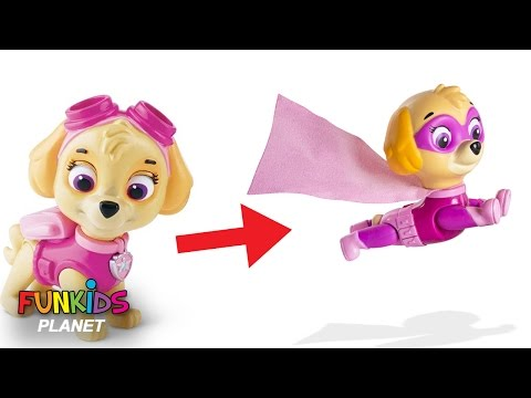 Thumbnail: Best Learning Colors Video for Children - Paw Patrol Turn into Super Pups Magic