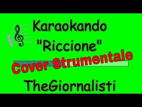 Karaoke Italiano - Riccione - TheGiornalisti ( Testo )