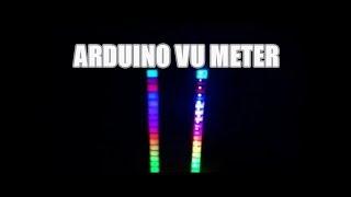 #VUmeter #Arduino |#RGB VU meter| WS2811 VU meter|Arduino VU meter