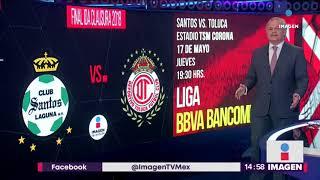 No se pierdan la final de Ida Santos vs.  Toluca en Imagen Televisión