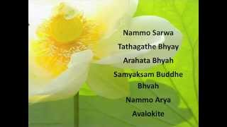 The Great Compassion  Mantra in Sanskrit