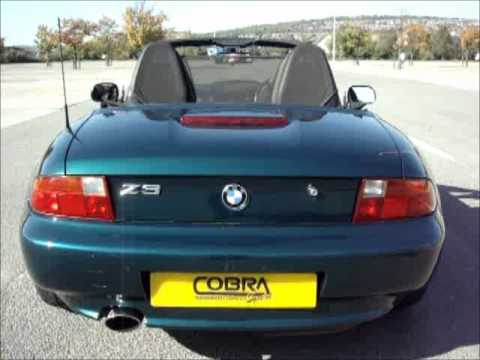 bmw z3 1 9 m44 performance exhaust by cobra sport exhausts. Black Bedroom Furniture Sets. Home Design Ideas
