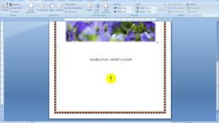 Microsoft Office Word 2007 - Ders 12 - Dökümana Yeni Sayfa Ekleme - Görünüm oranını Degiştirme