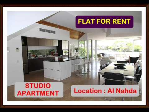 AL NAHDA I STUDIO APARTMENT FOR RENT @ 1200/- AED MONTHLY AVERAGE COST I BUDGET PROPERTY