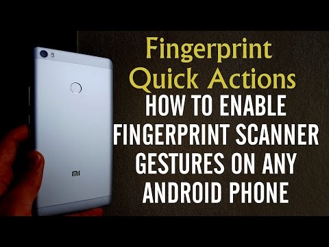 How to enable fingerprint scanner gestures on any Android ...