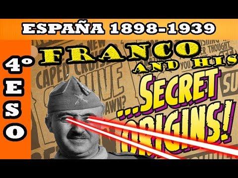 TEMA 10 España a principios del siglo XX 1898 1939 4º ESO HISTORIA