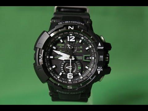 G-SHOCK GW-A1100-1A3 | Обзор и настройка (на русском) | Купить со скидкой