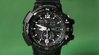 G-SHOCK GW-A1100-1A3 | Огляд і настройка (російською) | Купити зі знижкою