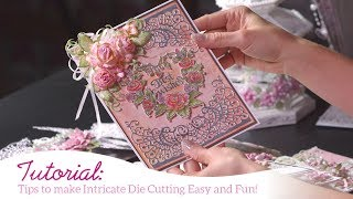 Tips to make Intricate Die Cutting Easy and Fun