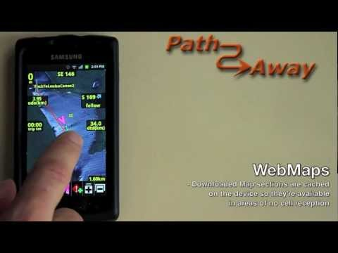 PathAway Outdoor GPS - Quick Demo 1