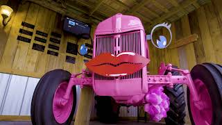 """Hope"" The Breast Cancer Awareness Tractor 