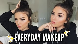 Chit Chat: Everyday Makeup | Winged Liner + Nude Lips