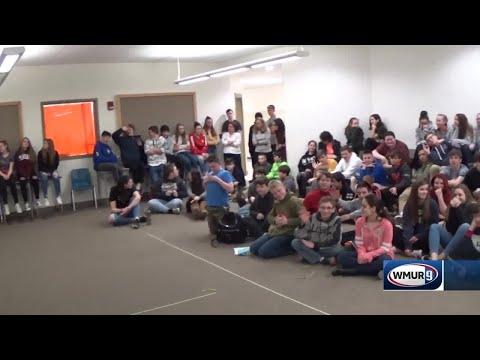 School visit: Weare Middle School
