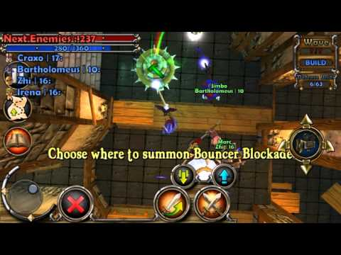 'Dungeon Defenders: First Wave' Mobile Announcement Trailer