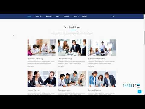 Performance - Consulting and Business HTML Template        Aden Jurou