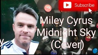 Miley Cyrus. Midnight Sky (Cover) #mileycyrus #midnightskycover #kinemaster #sing2piano