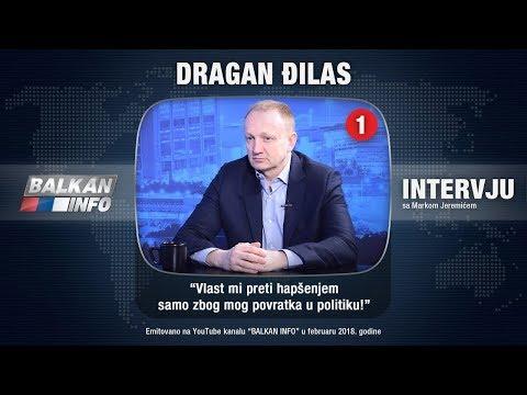 INTERVJU: Dragan Đilas - Vlast mi preti hapšenjem samo zbog mog povratka u politiku! (28.02.2018)