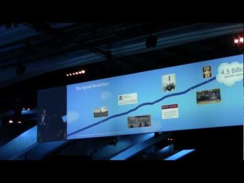 Dreamforce 2012: Marc Benioff, CEO Salesforce