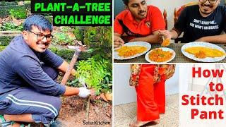 ഇന്നൊരു വ്യത്യസ്തമായ Full Day Vlog ആയാലോ | How to Stitch | Dinner: Wheat Dosa, Tin Fish Masala