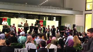 Afghan {boys and girls} Attan in London (2018)