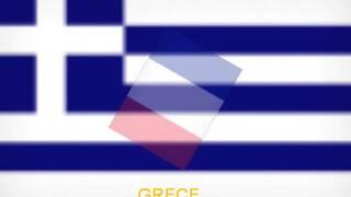 Education : Les drapeaux des pays de l