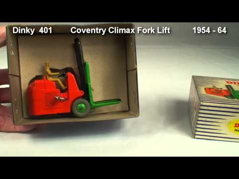 Coventry Climax Fork Lift  Dinky  401 1954 -  64