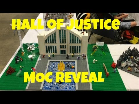 LEGO DC: The Hall of Justice MOC REVEAL