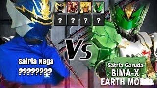 Download Video Satria Naga Kai VS Bima X Earth Mode MP3 3GP MP4