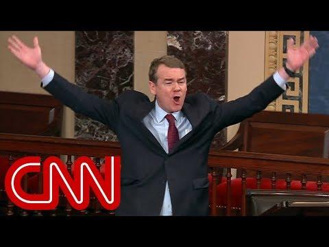 Senator slams Ted Cruz's 'crocodile tears'