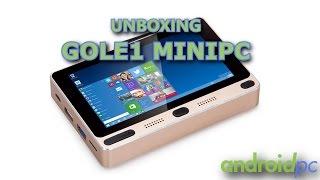 """Unboxing: GOLE1 MiniPC con pantalla táctil de 5"""" y Dual OS"""